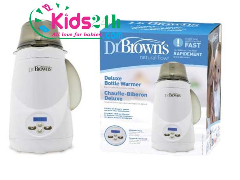 Máy hâm sữa và tiệt trùng 1 bình siêu tốc Dr.Brown's Deluxe 851 - 1