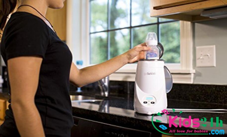 Máy hâm sữa và tiệt trùng 1 bình siêu tốc Dr.Brown's Deluxe 851 - 2