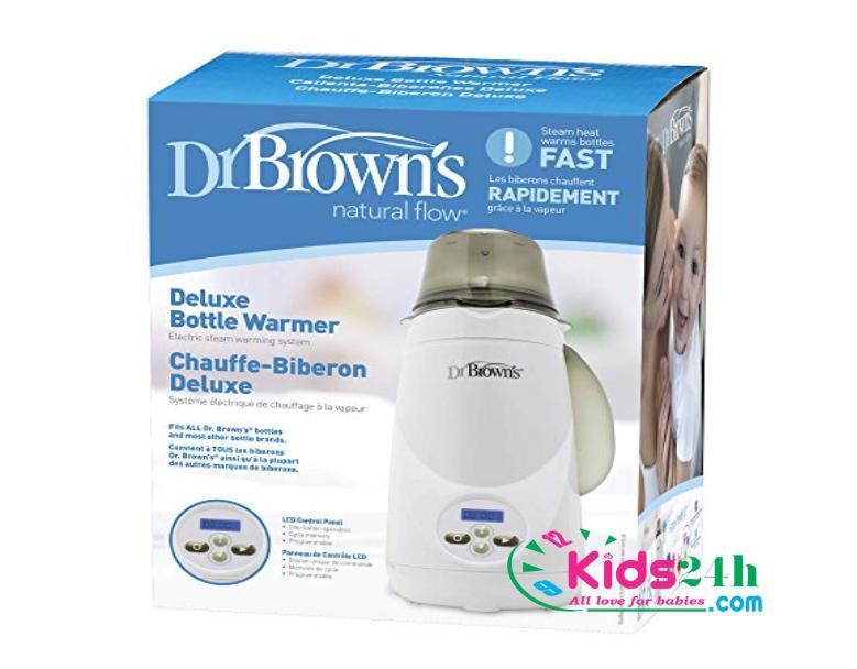 Máy hâm sữa và tiệt trùng 1 bình siêu tốc Dr.Brown's Deluxe 851 - 3