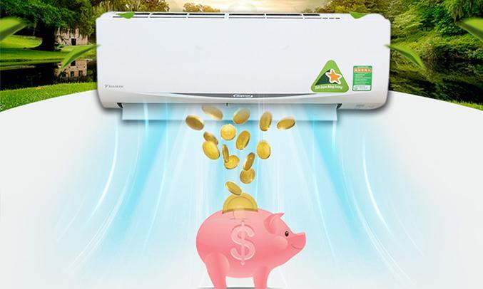 Máy lạnh Daikin FTKC25RVMV 1HP tiết kiệm điện năng