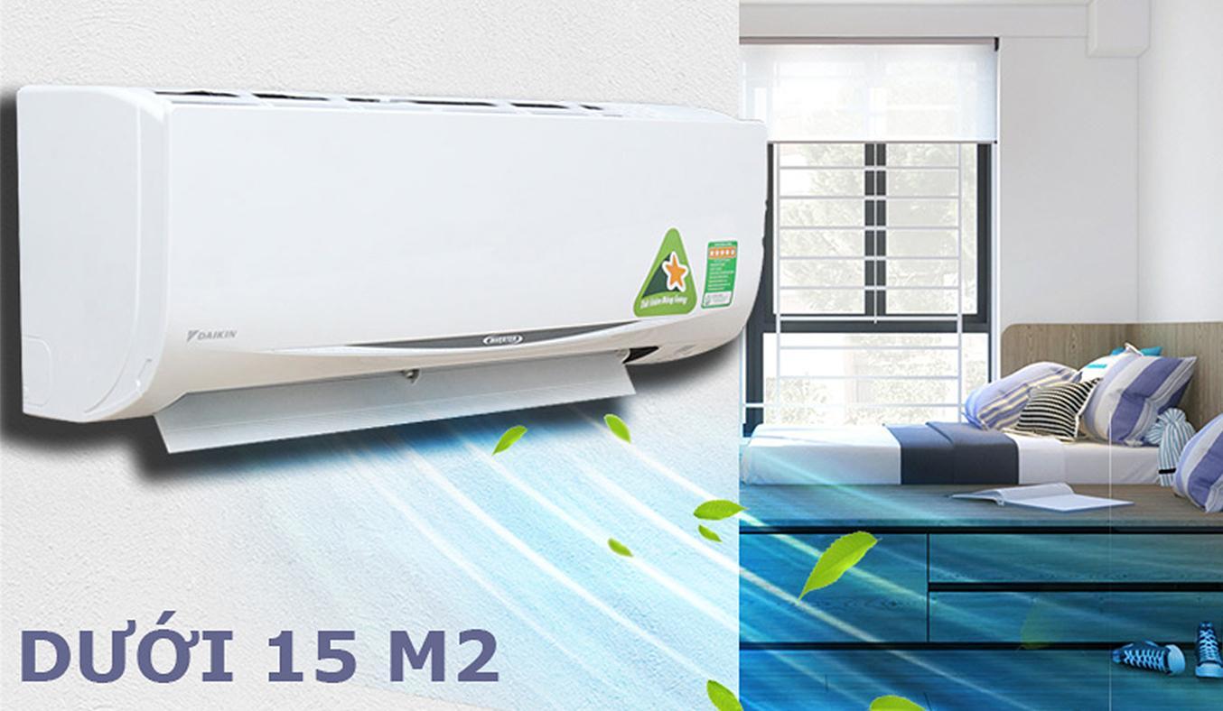 Máy lạnh Daikin FTKC25RVMV 1HP thiết kế tinh tế, hiện đại