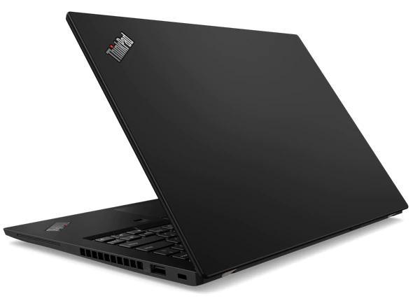 Lenovo ThinkPad X390 Rear View
