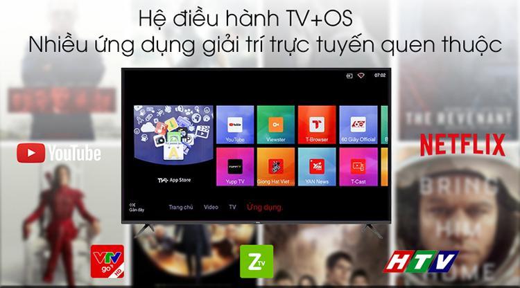 Smart Tivi TCL 55 inch 4K UHD L55P65-UF