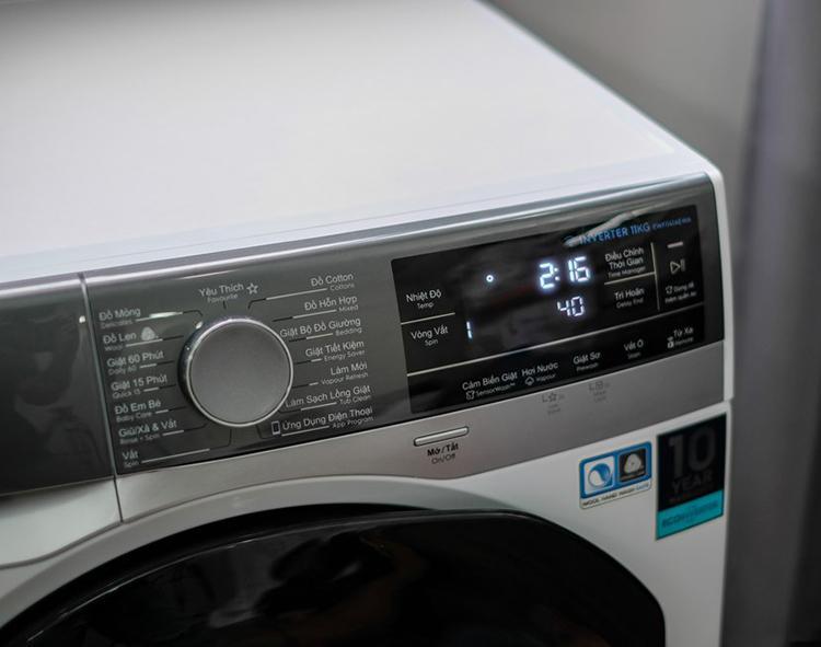 Máy Giặt Electrolux Inverter 11kg EWF1141AEWA