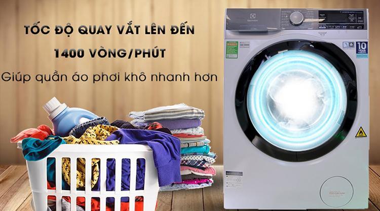 Máy Giặt Cửa Trước Inverter Electrolux EWF1141AEWA (11kg) - Hàng Chính Hãng