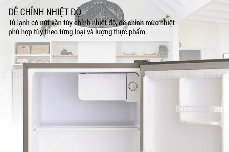 Tủ Lạnh Mini Electrolux EUM0500SB (46L) - Hàng chính hãng