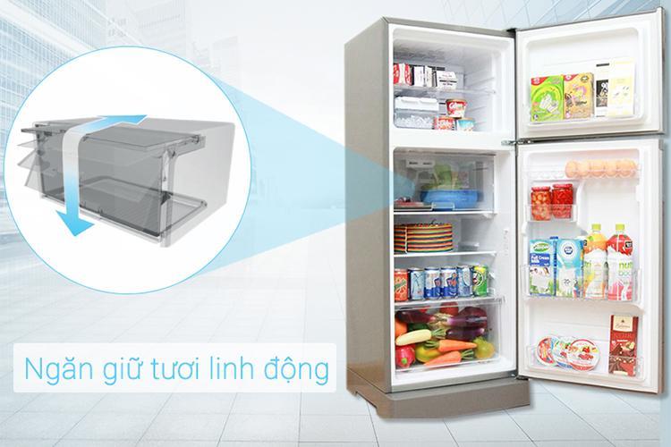 Tủ Lạnh Inverter Sharp SJ-X201E-DS (196L)