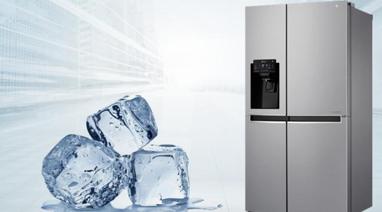 Tủ lạnh LG GR-D247JDS - Làm đá tự động
