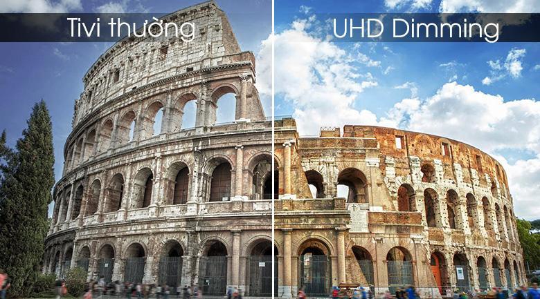 Công nghệ UHD Dimming tối ưu hóa độ tương phản, độ nét, màu sắc giúp nâng cao chiều sâu cho khung hình