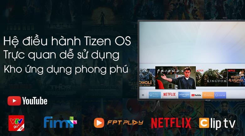 Hệ điều hành Tizen OS dễ dùng, nhiều ứng dụng tiện ích