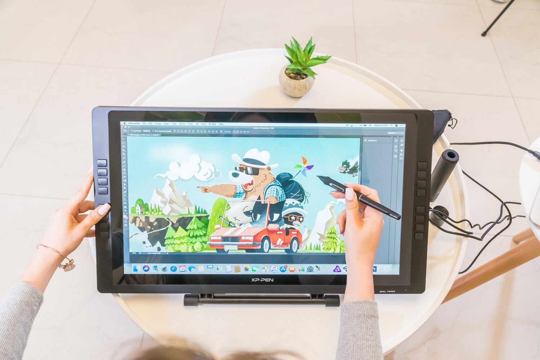 Bảng vẽ màn hình XP-Pen Artist 22E Pro