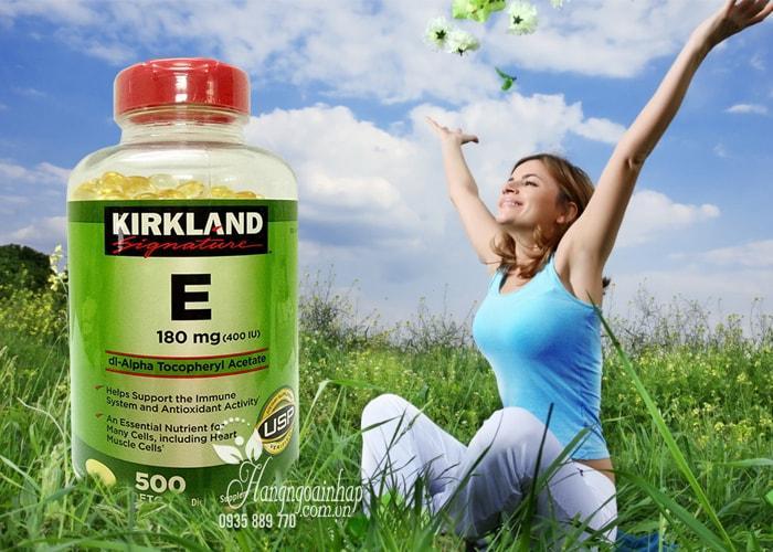 Vitamin E Thiên Nhiên 400 I.U Kirkland Signature 500 Viên Của Mỹ 2