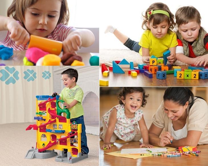 2 - 3 tuổi trẻ có thể chơi các trò phức tạp hơn, cần tư duy hơn